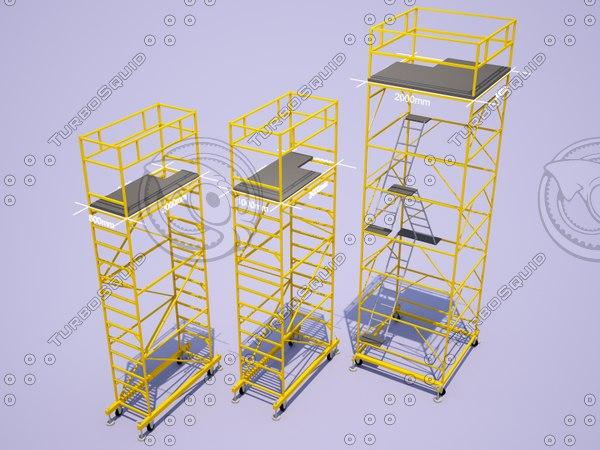 3D scaffolding pack