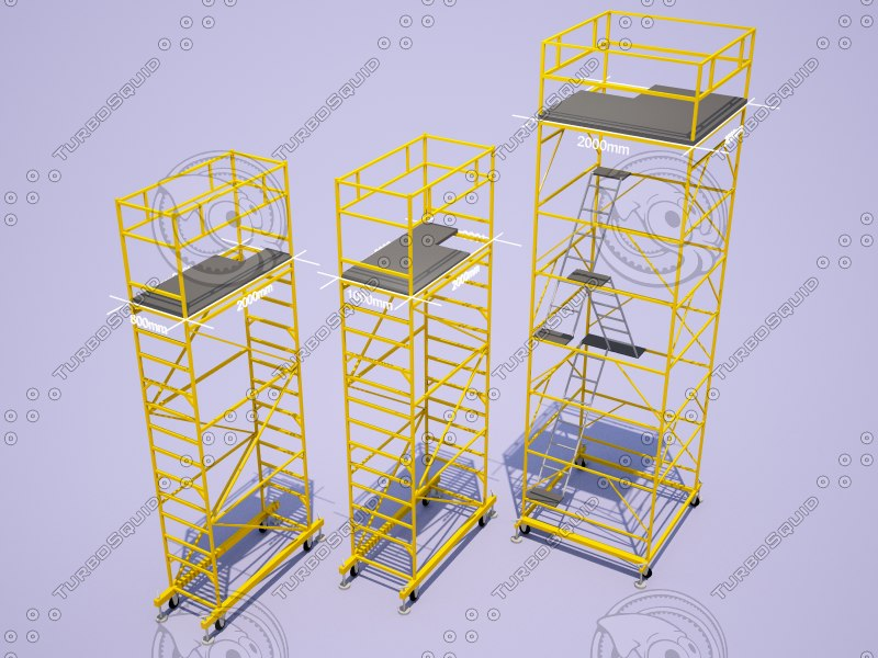 3D scaffolding pack