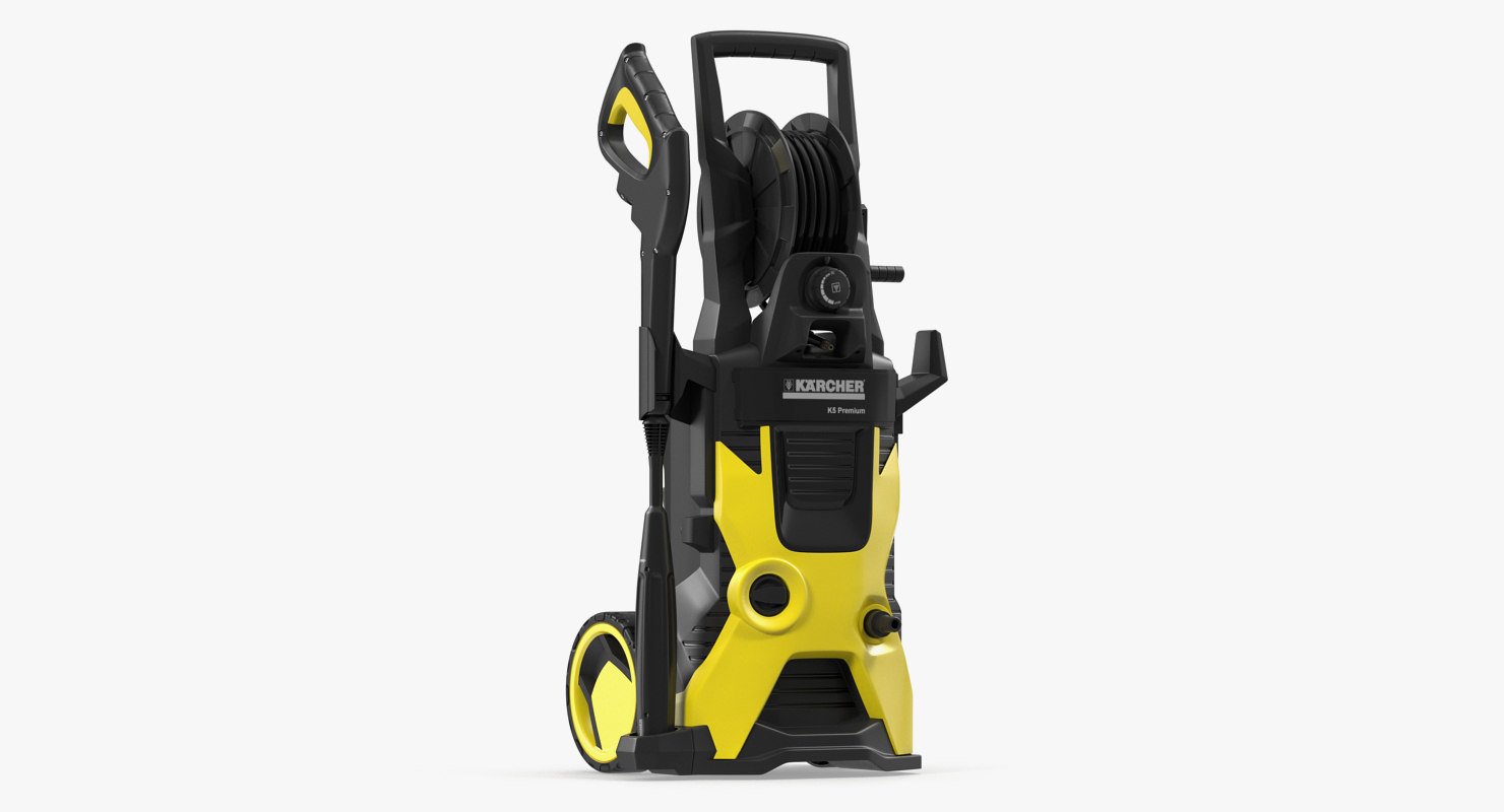 Nya 3D karcher k5 premium pressure model - TurboSquid 1290348 QT-31