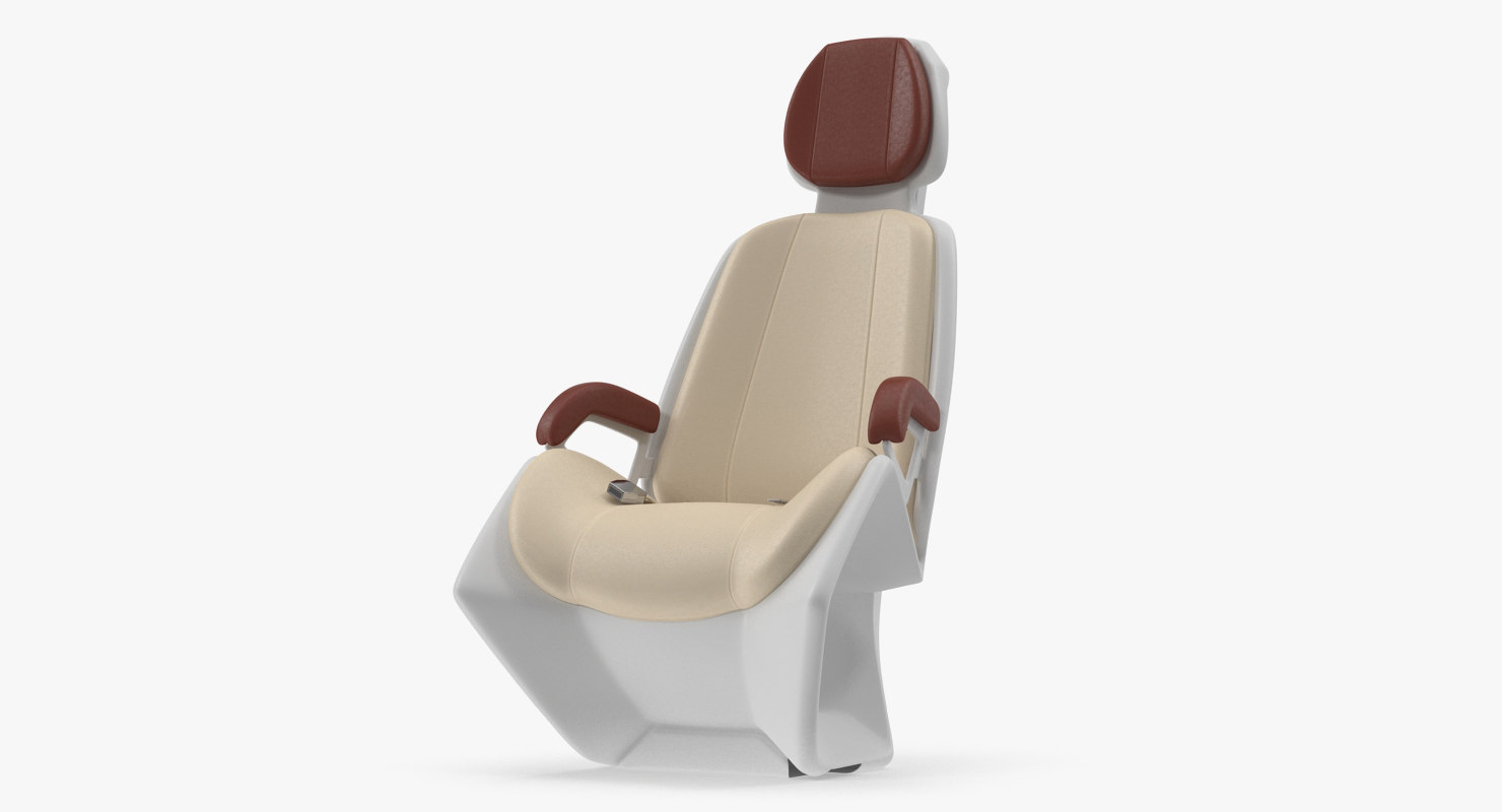 hyperloop seat 3D model