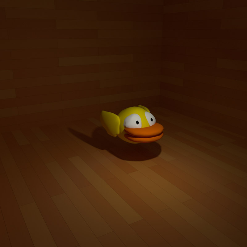 3D model flappy bird
