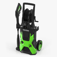 pressure electric washer generic 3D