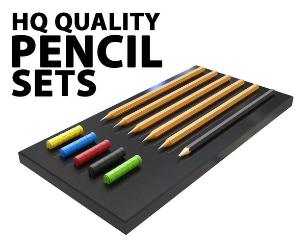 pencil sets model