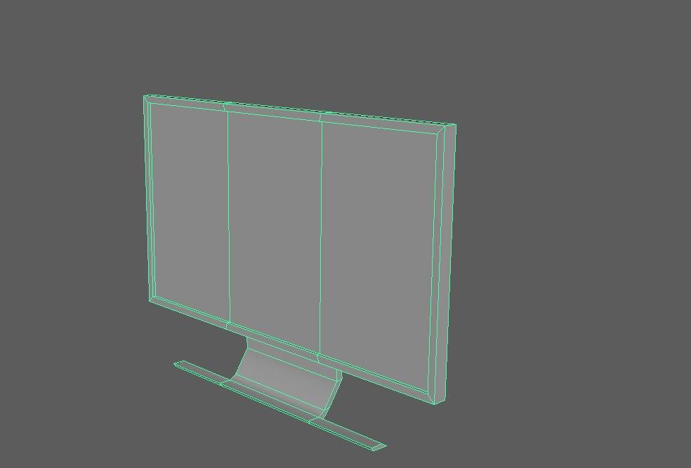 computer monitor model