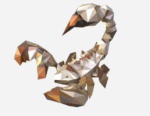 art white animation 3D model