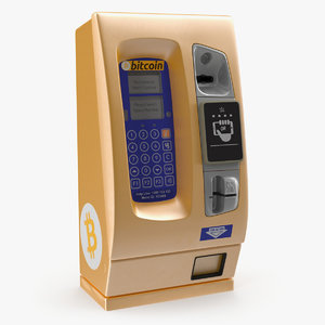 bitcoin atm 3D model