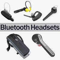 3D bluetooth headsets 2 model
