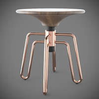 3D model phillips stool