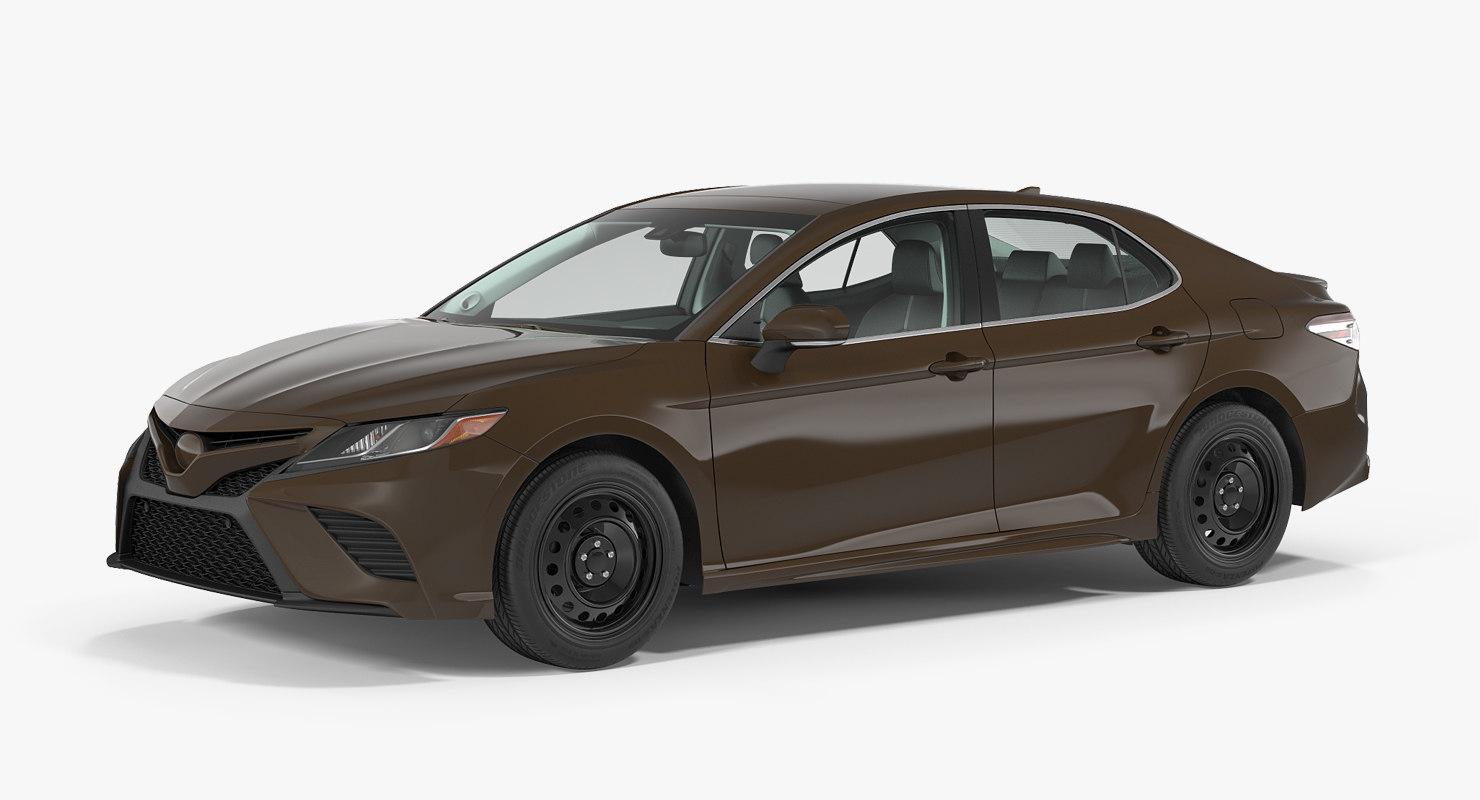 3D business sedan generic