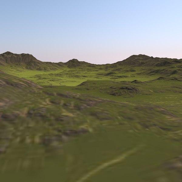 3D big valley