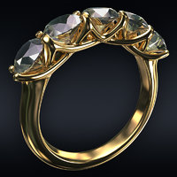 Jewel ring 5-round