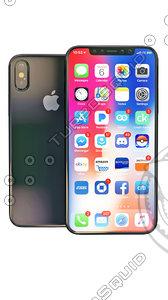 iphonex iphone 3D