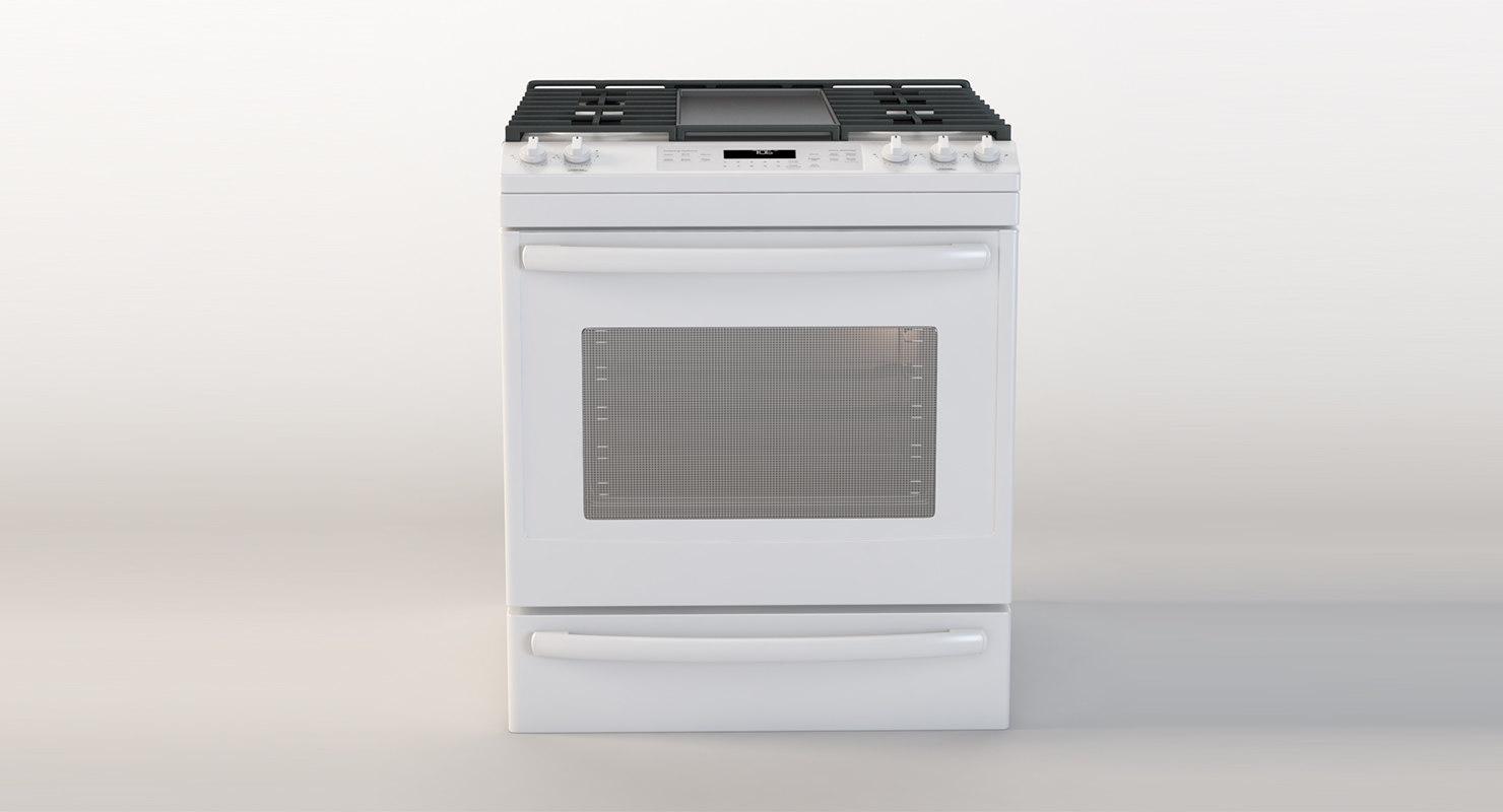 ge oven 3D model