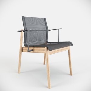 gloster sway chair 3D model