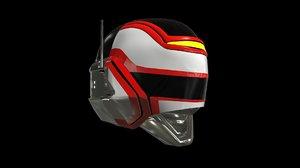 3D jaspion helmet