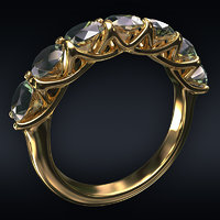 jewel ring 3D
