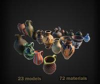 3D model vase jar pitcher