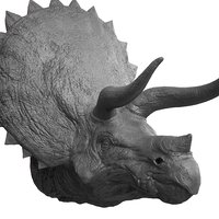 3D triceratops head