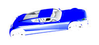 car body 3D model