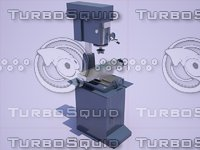 Vertical drilling milling machine