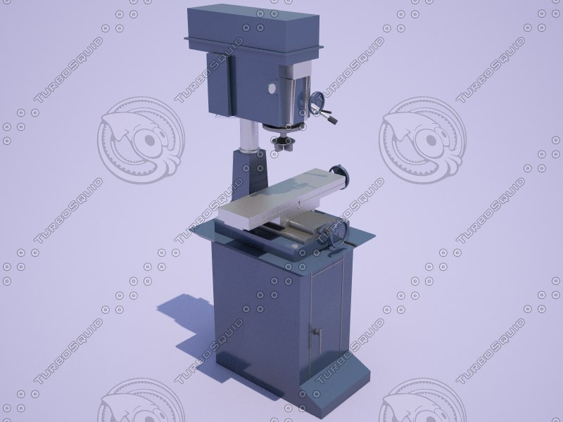 3D vertical drilling milling machine