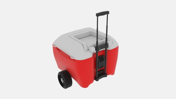 3D mobile coolbox model