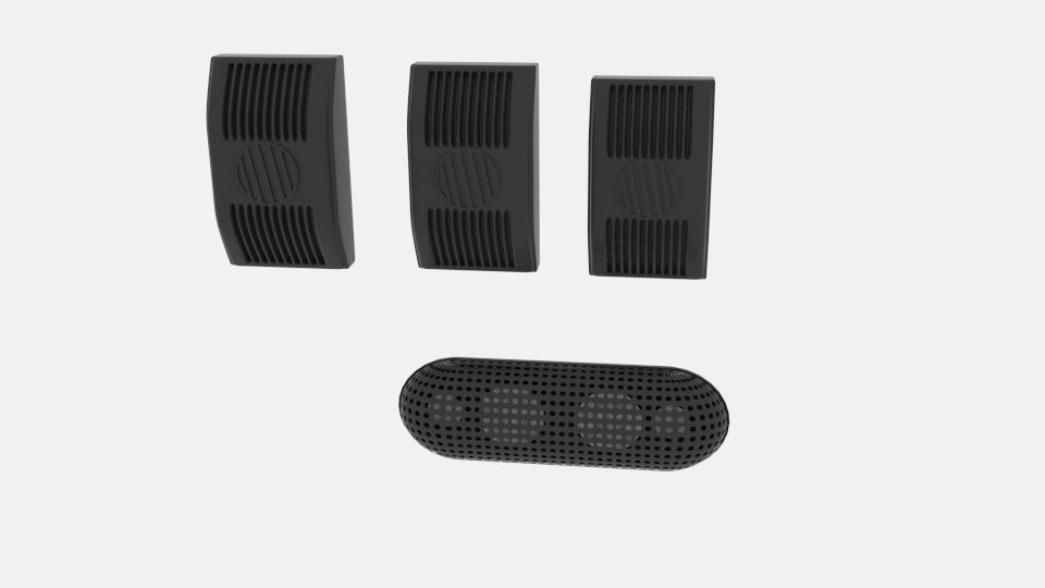 stack speaker 3D model