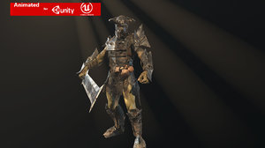 3D character fighter