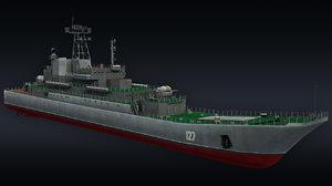3D model landing ship llc