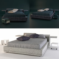 3D model bed bodema space