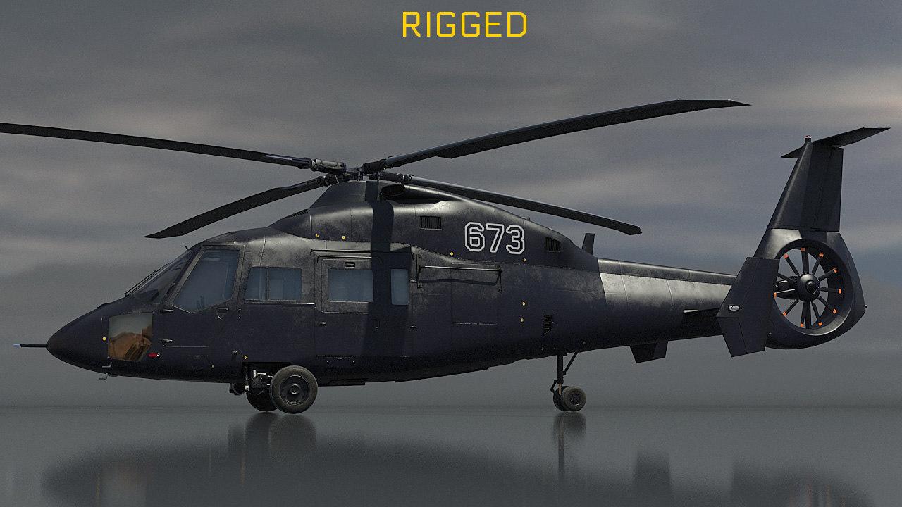 3D ka-60 helicopter kasatka model