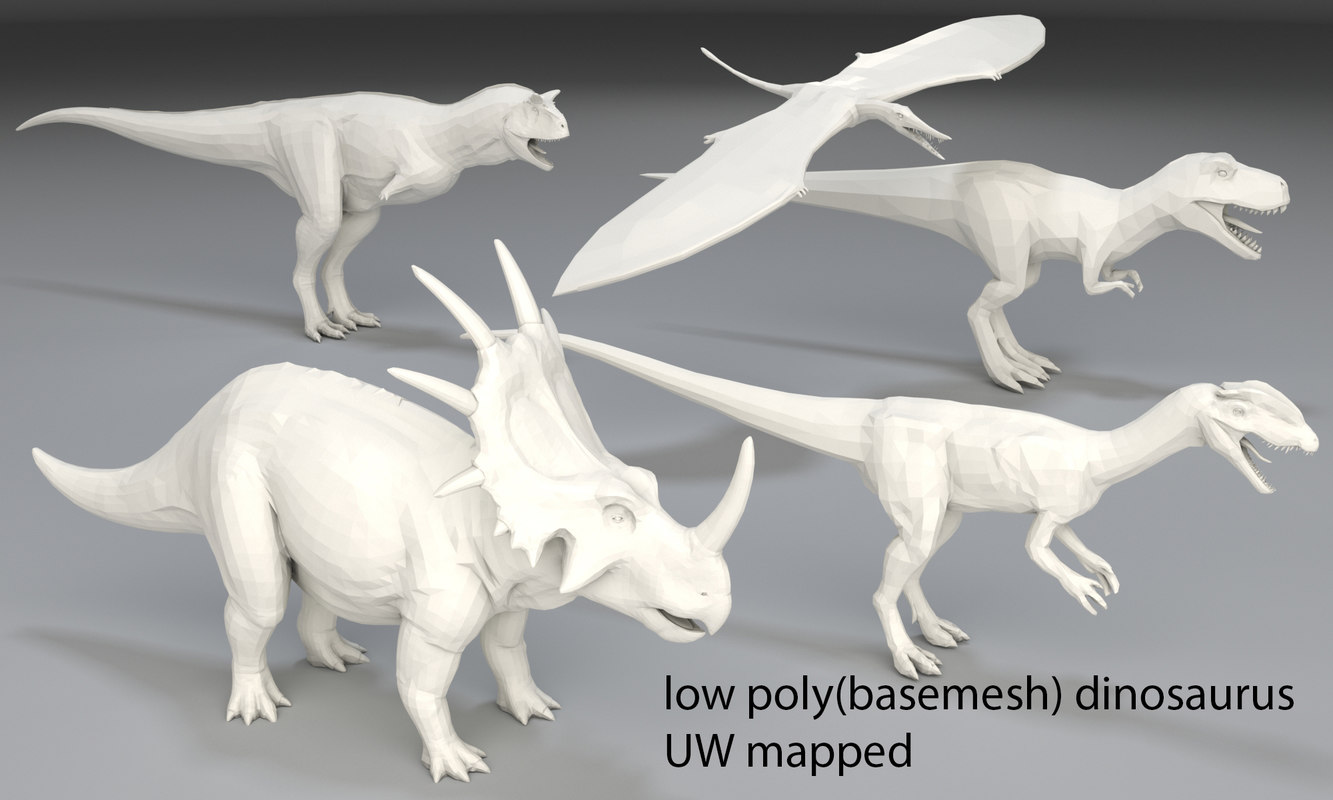dinosaurs tyrannosaurus rex 3D model