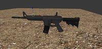M4A1 Weapon 3D Model