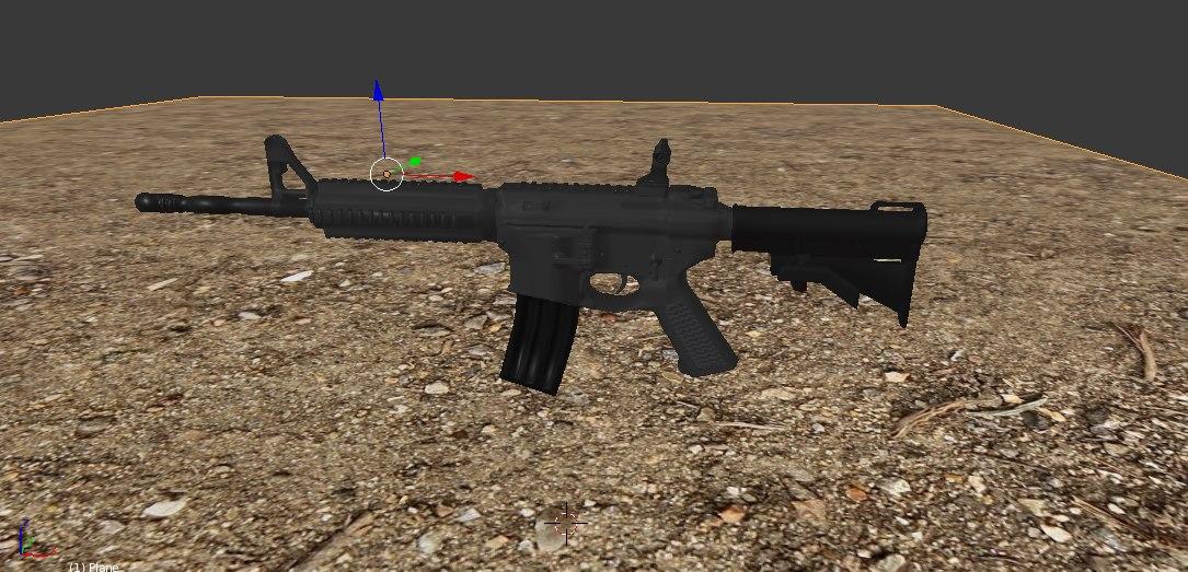 weapon magazine 3D model