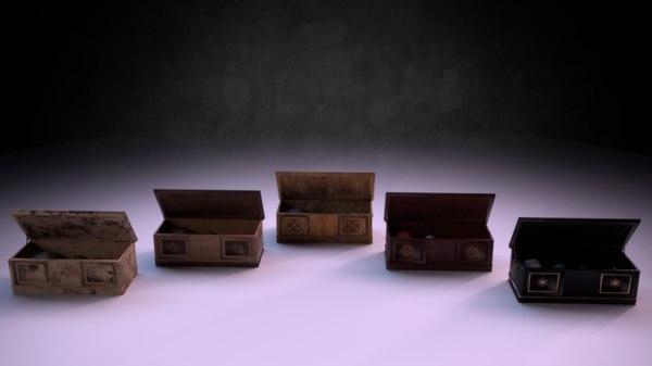 3D chest m01 - marquis