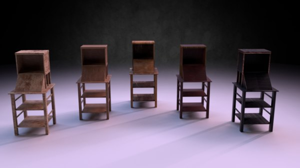 reading stand m01 - 3D model