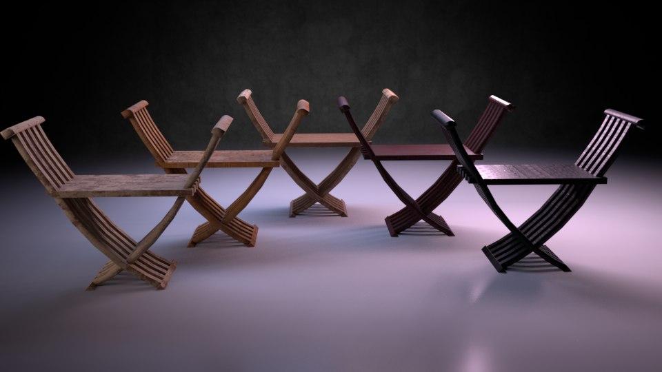 3D chair m04 - marquis model