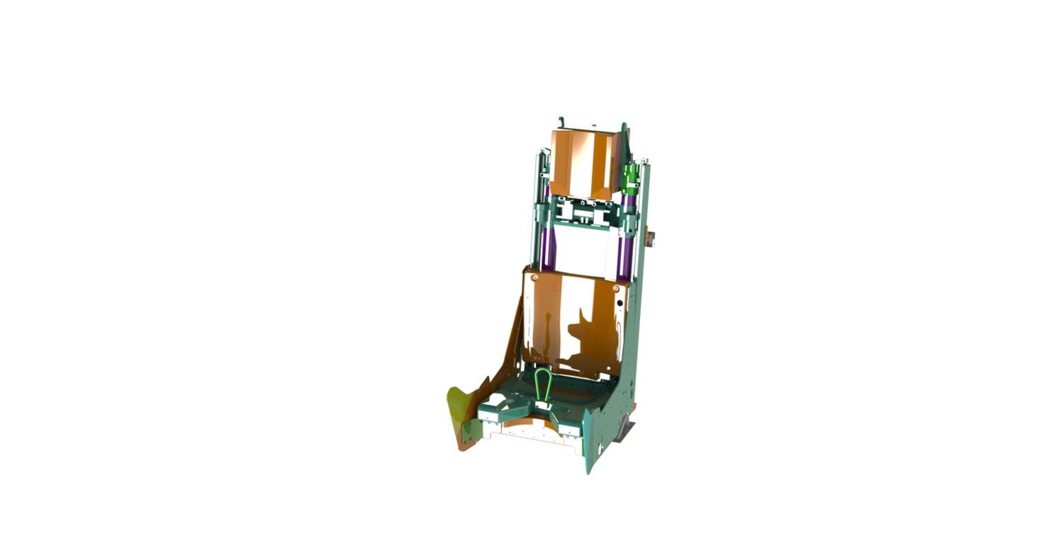 3D ejection seats