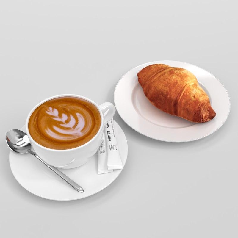 3D model blender set verona cappuccino