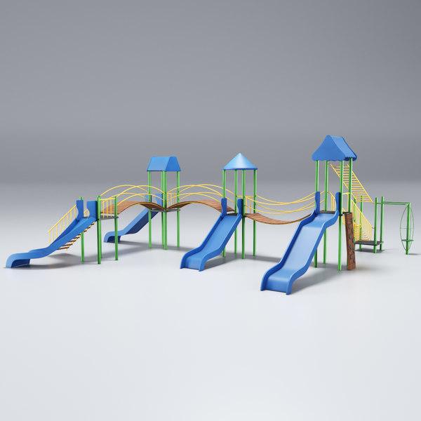 play playground model