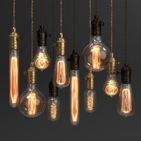 Edison Vintage Lamp set