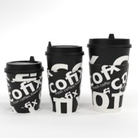 Coffee Paper Cup set