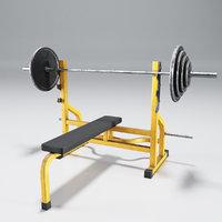 bench press model