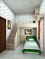 3D children s bedrooms