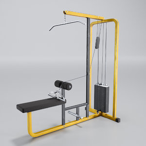 3D model pull station
