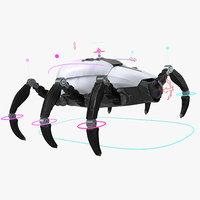 Sci-Fi Spider Animated