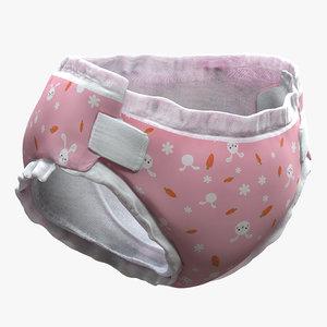 3D diaper arnold