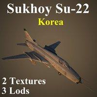 korea kndr 3D model