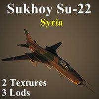 syria sir 3D model