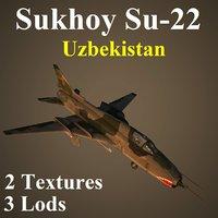 3D model uzbekistan uzb